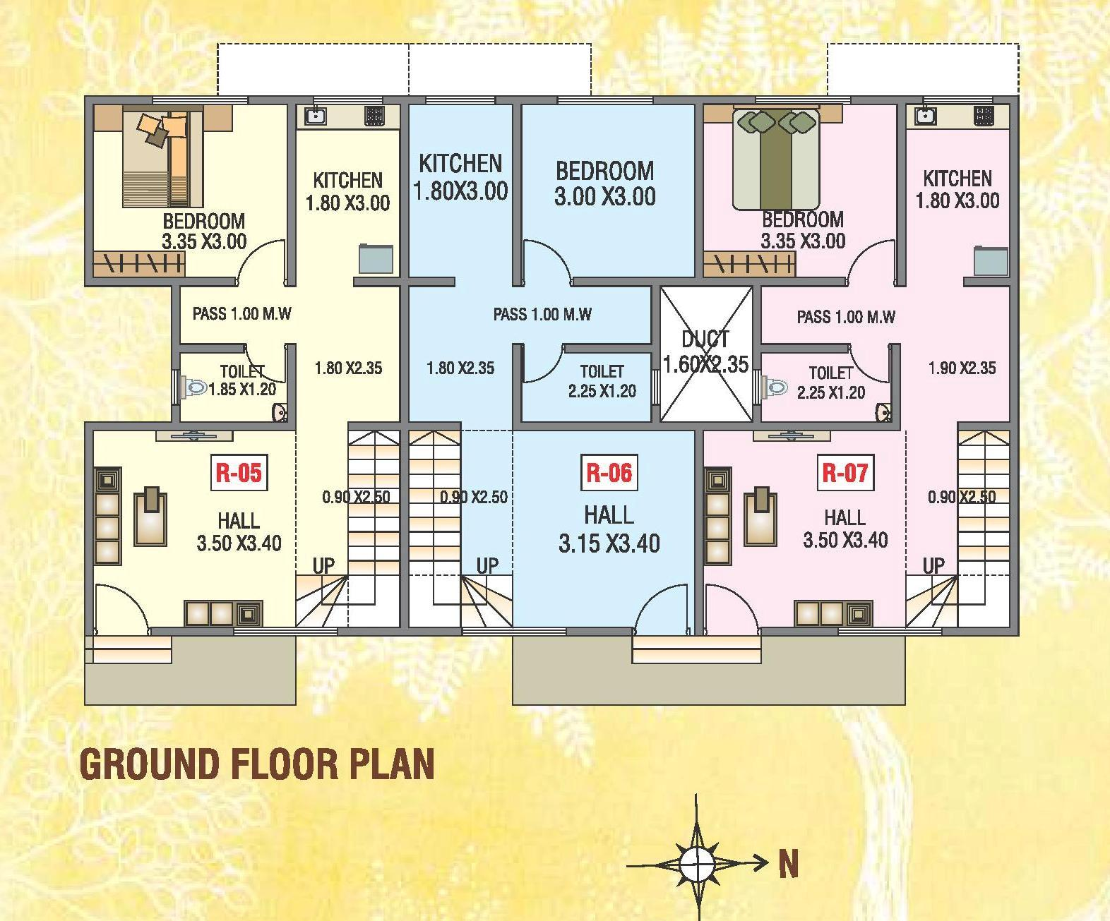 100 Row House Floor Plan About Project Royal Enrich